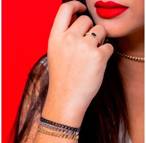 Bracelete-regulavel-com-design-de-corrente-groumet-folheado-em-rodio-negro-01